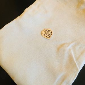 James Avery Middle Sister Charm (Sterling Silver)